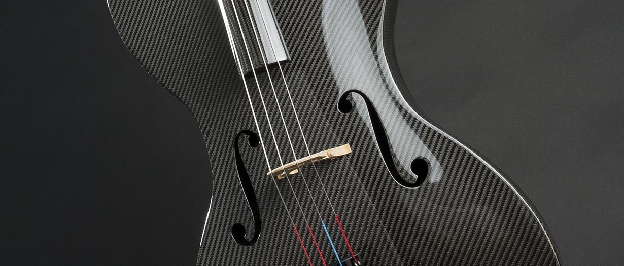 carbon fiber string instruments - cello